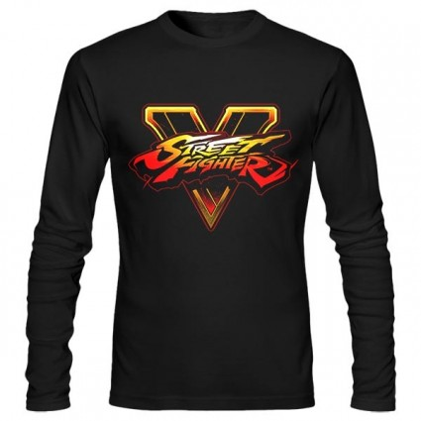 تیشرت آستین بلند طرح Street Fighter V