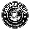 تی‌شرت آستین بلند رگلان طرح Coffee Club