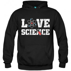 سویشرت هودی Love Science