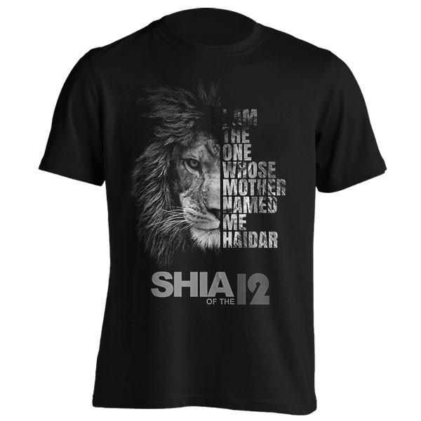 تیشرت طرح Shia of the 12