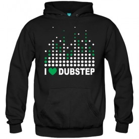 سویشرت هودی I love dubstep