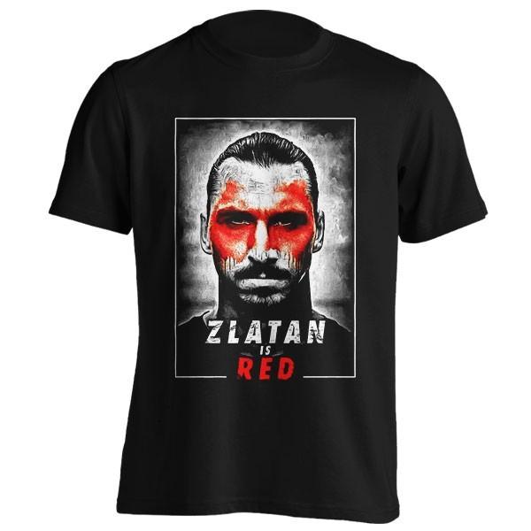 تیشرت طرح Zlatan is Red