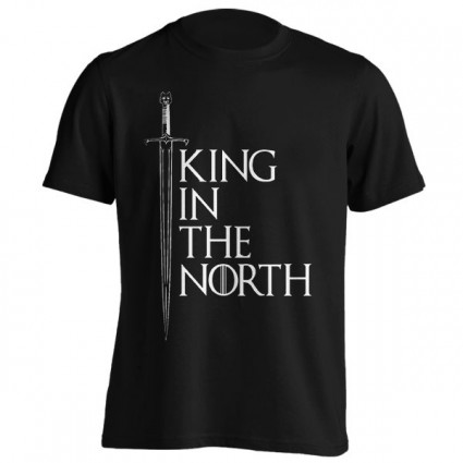 تی‌شرت طرح The King In The North