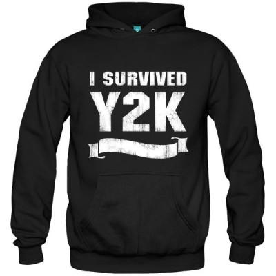 سویشرت هودی طرح Y2K Survivor