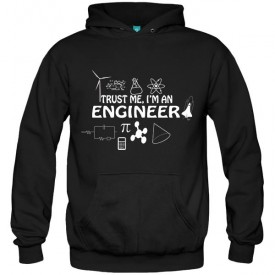 سویشرت هودی طرح Trust me i'm an engineer
