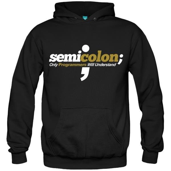 سویشرت هودی طرح Programmer - semicolon