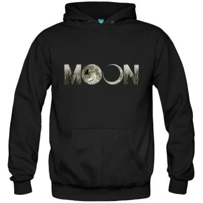 سویشرت هودی طرح Moon