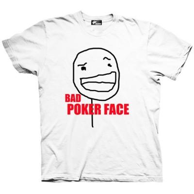تیشرت ترول طرح Bad Poker Face