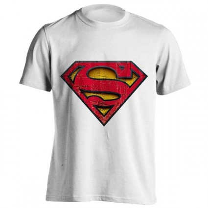 تی شرت Superman Distressed Logo