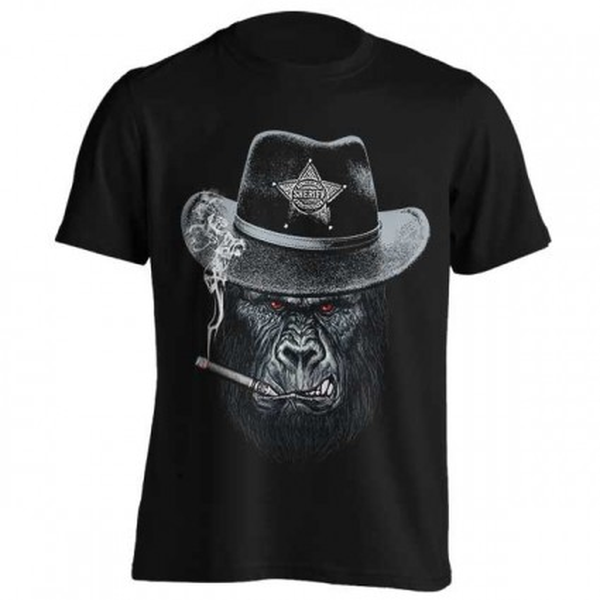 تیشرت طرح Sheriff