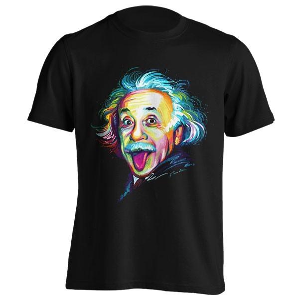 تیشرت طرح Albert Einstein