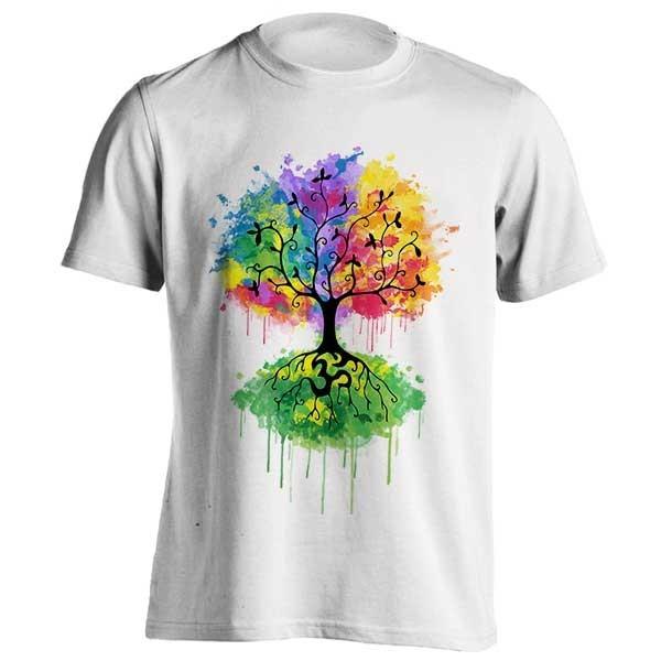 تیشرت طرح Ohm Tree