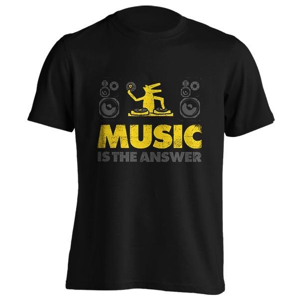 تیشرت طرح Music