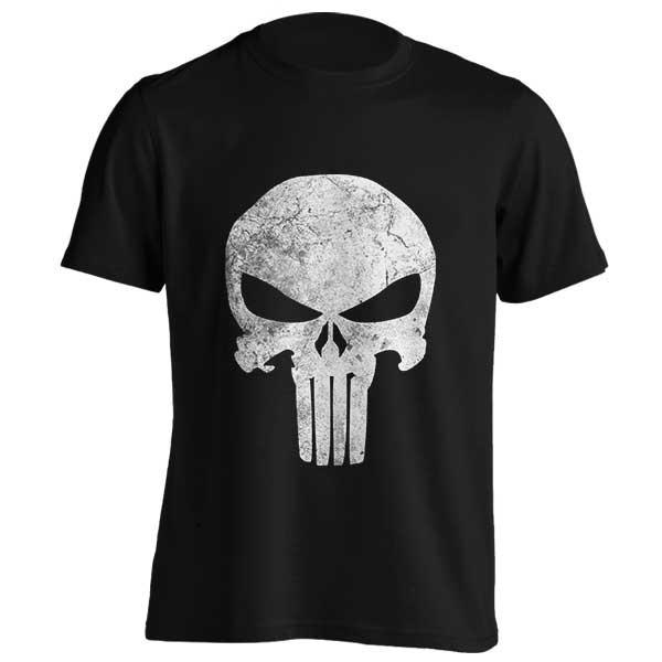تیشرت طرح Punisher Skull Grunge