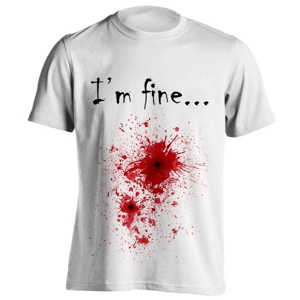 تی شرت Blood spatter