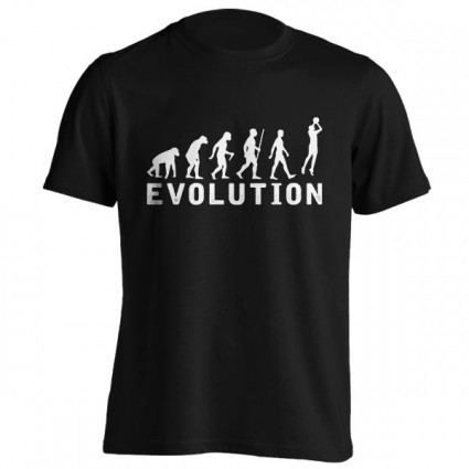 تیشرت طرح Basketball Evolution