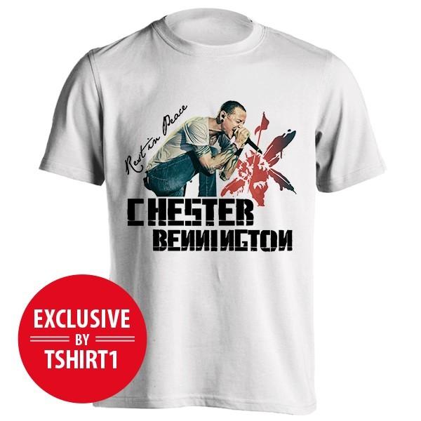 تیشرت طرح About Chester Bennington
