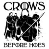 تیشرت طرح Crows Before Hoes