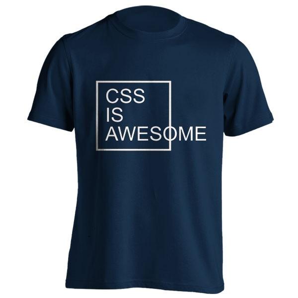 تیشرت طرح CSS is Awesome