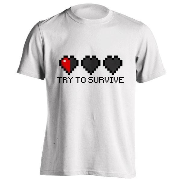 تیشرت Try to survive