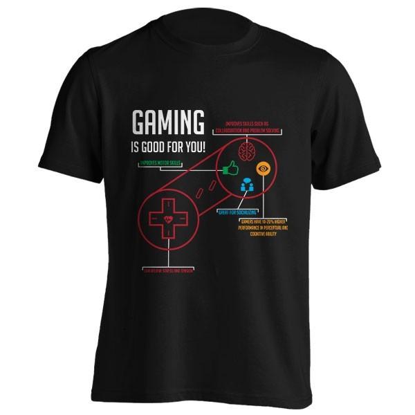 تیشرت Gaming is Good for You