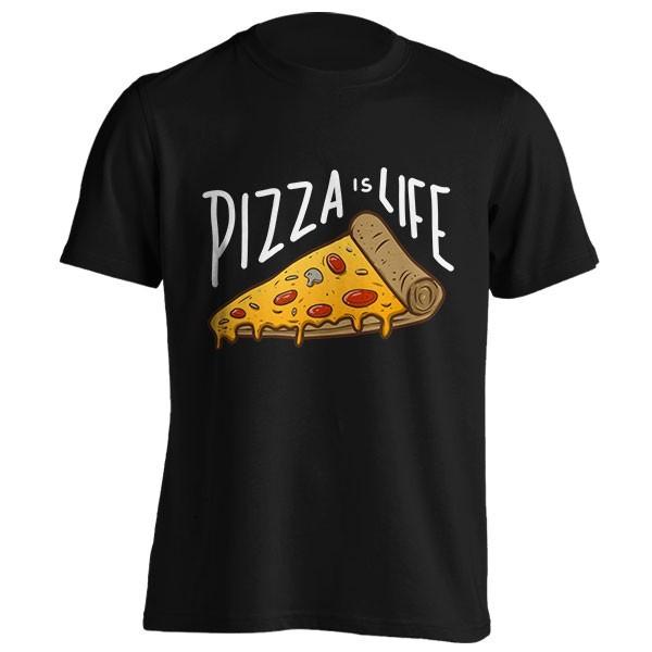 تیشرت Pizza is life