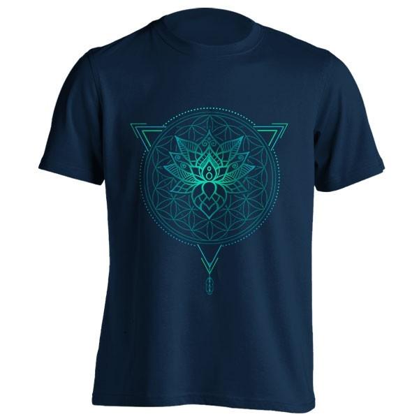 تیشرت Mandala in Geometric Triangle