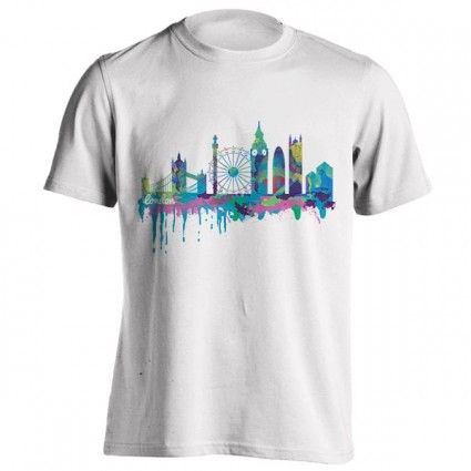 تیشرت Inky London Skyline