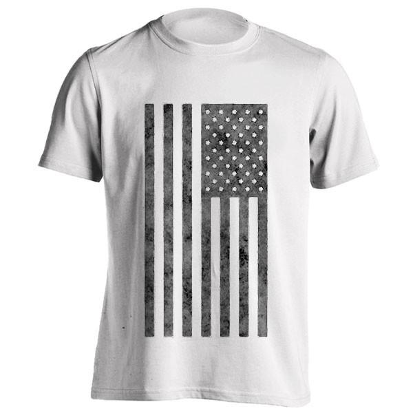 تیشرت Grunge Style American Flag
