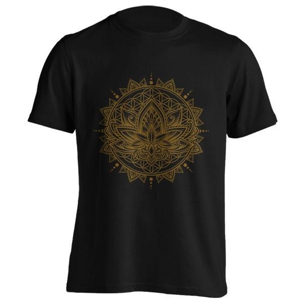 تیشرت Lotus Mandala - Gold