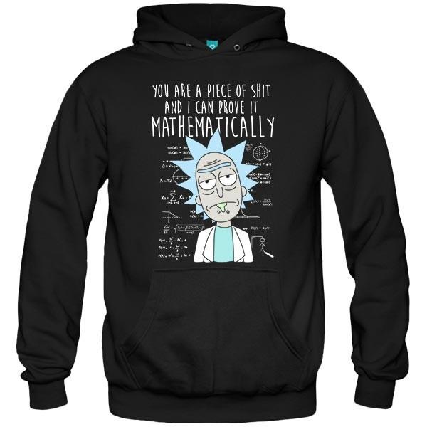 سویشرت هودی Mathematically Rick