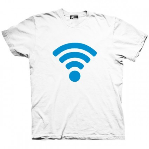 تیشرت تکنولوژی طرح WiFi