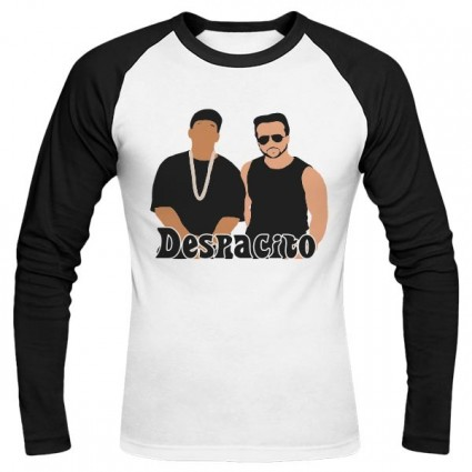 تیشرت آستین بلند رگلان Despacito
