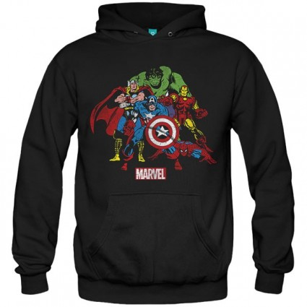 سویشرت هودی Comic Style Avengers