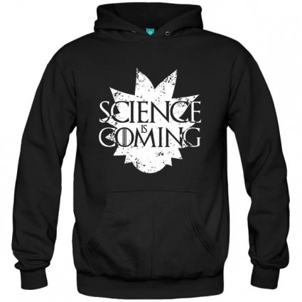 سویشرت هودی Rick & Morty - Science is Coming