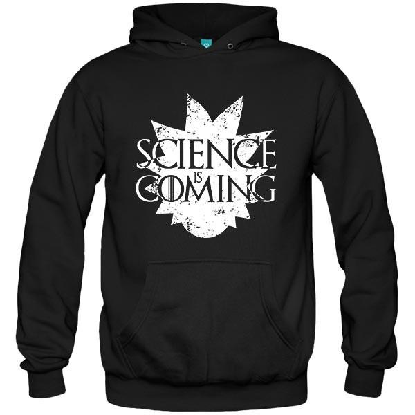 سویشرت هودی Rick & Morty - Science is Coming