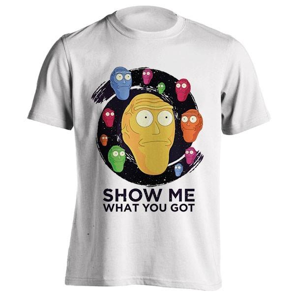 تیشرت Show me what you got - space (Rick and Morty)