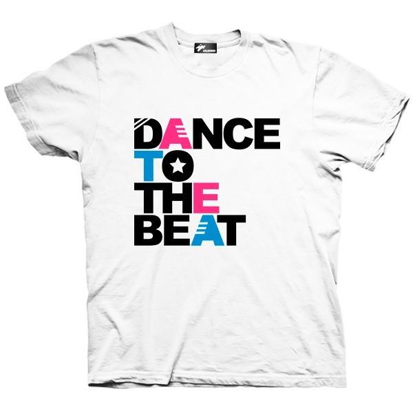 تیشرت موزیک طرح Dance to the Beat
