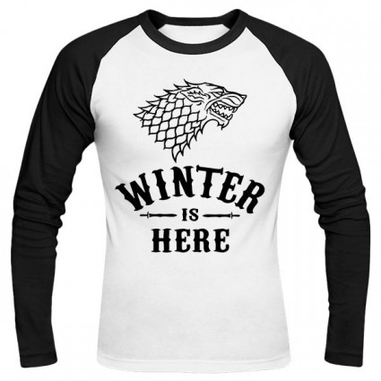 تیشرت آستین بلند رگلان Winter is Here