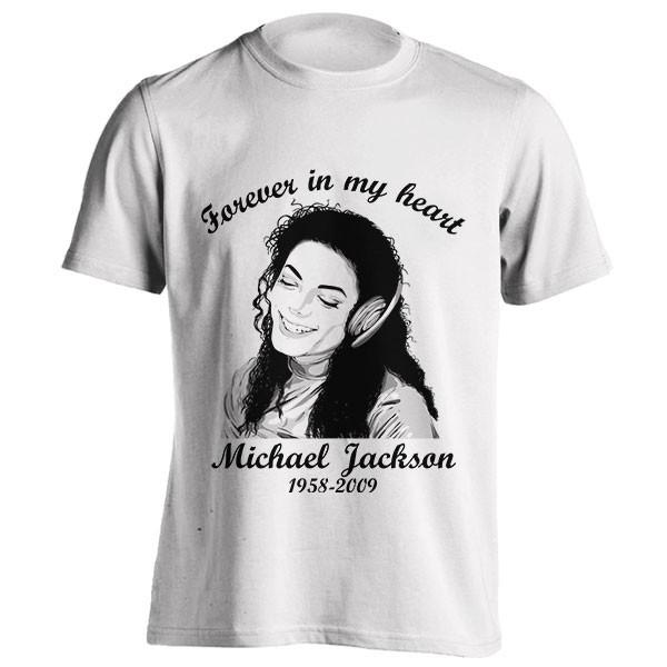 تیشرت مایکل جکسون طرح یادبود
