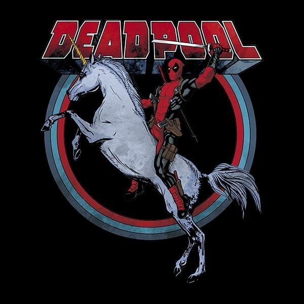deadpool-on-horseback-t-shirt