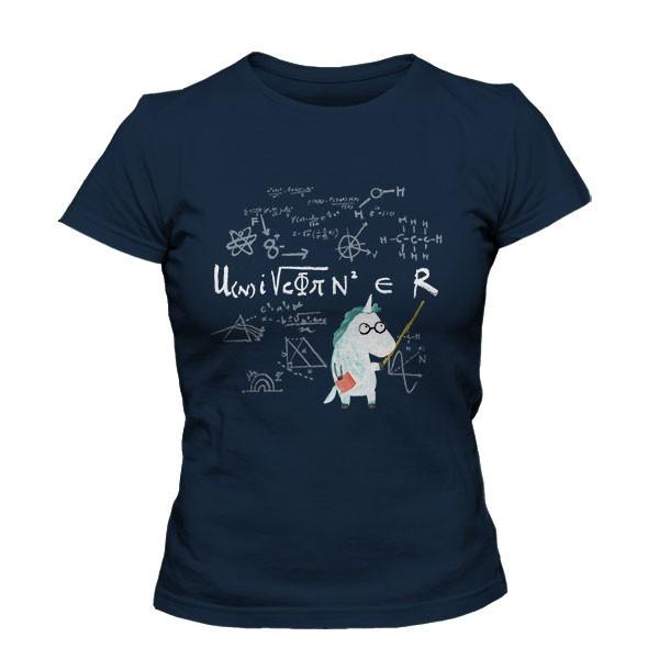 تیشرت دخترانه The science of unicorn