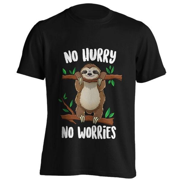 تیشرت No Hurry No Worries