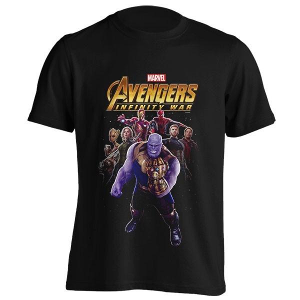 تیشرت طرح Thanos and Heroes