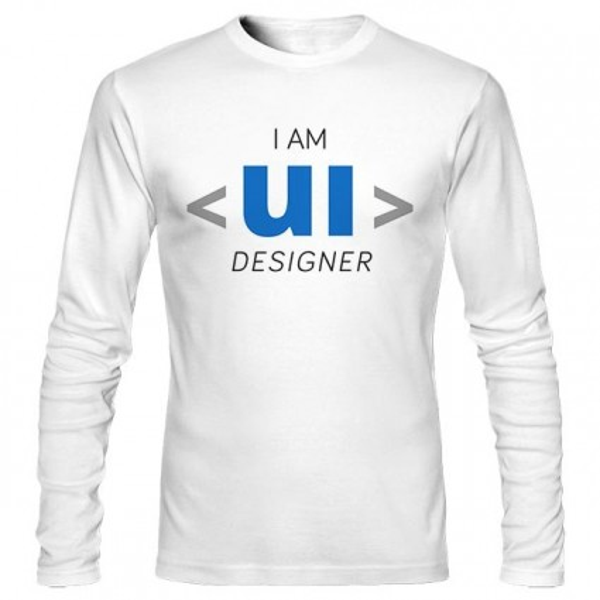 تیشرت آستین بلند UI Designer