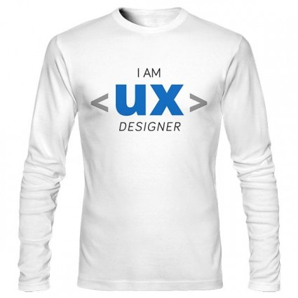 تیشرت آستین بلند UX Designer