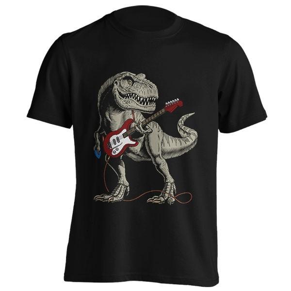 تیشرت Dinosaur Playing Guitar