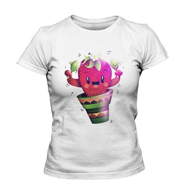 تیشرت دخترانه Strawberry Cactus