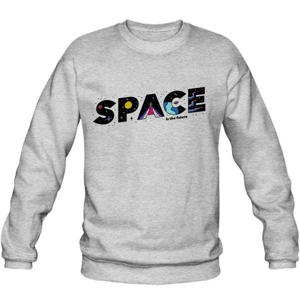 سویشرت ملانژ Space is the Future