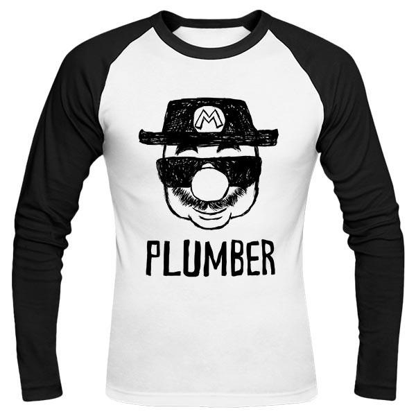 تیشرت آستین بلند رگلان Plumber